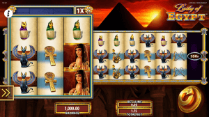 Lady of Egypt, a Progressive Jackpot Slot in Detail for Players