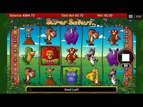 A Breakdown Of Super Safari Slot Game