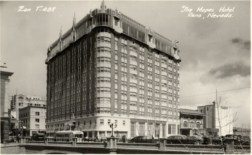 Mapes Hotel – History In Architecture
