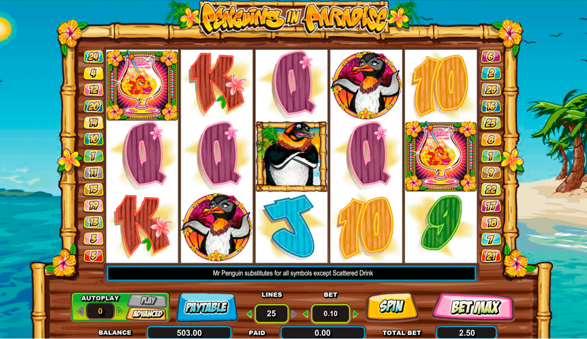 Check out the Review of Penguins In Paradise Online Slot