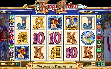 Read the Review of King Arthur Online Slot